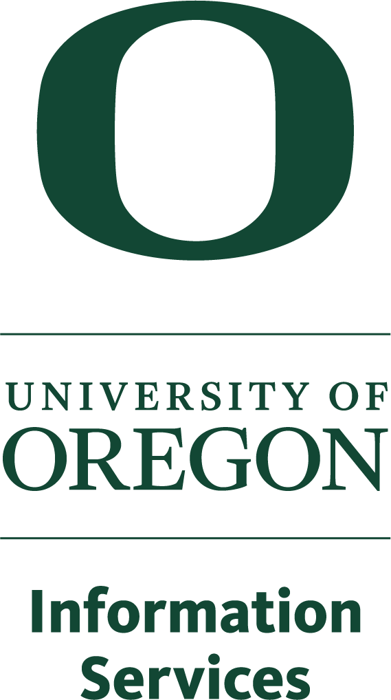 University of Oregon Information Services Logo