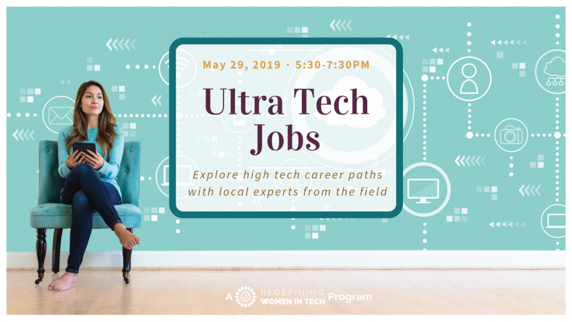 Ultra Tech Jobs Event Flyer